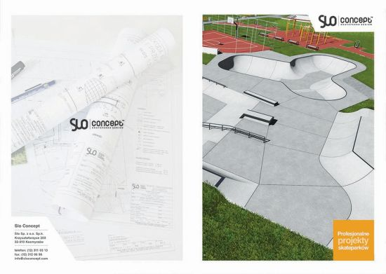 Slo Concept Skatepark , pumptrack, flowpark