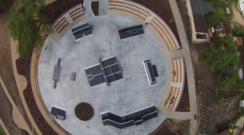 Concept skatepark in Pisz