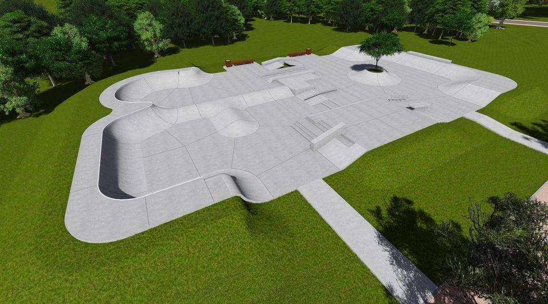 concept skatepark in Zgierz
