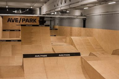Indoor Skatepark in Warsaw