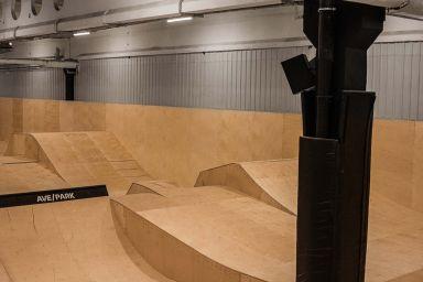 Innendørs Skatepark i Warszawa