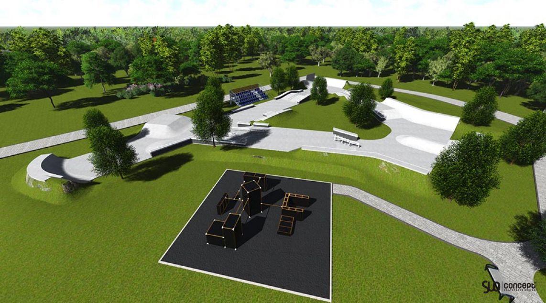 Project of the skate park for the city of Izhevsk