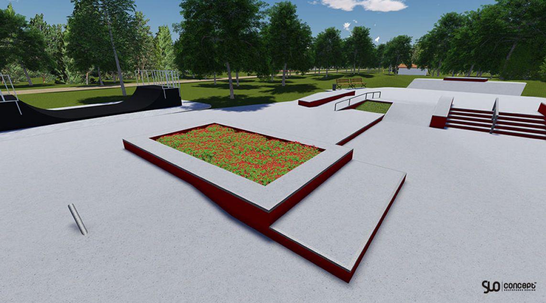 Project skatepark in Stepnica