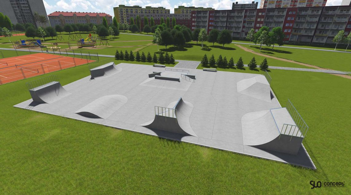 Project skatepark in Tychy