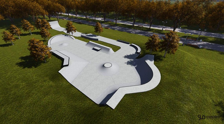 project skatepars in Katowice