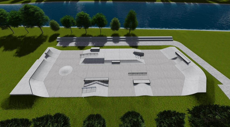 Projekt skateparku w Kłodzku