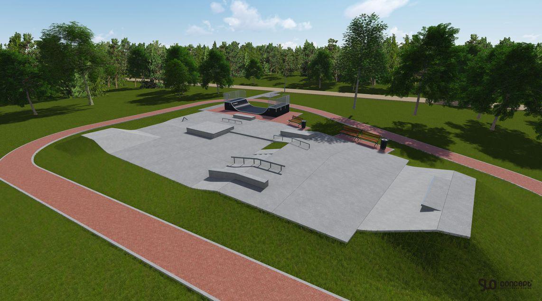 Projekt skateparku w Koluszkach