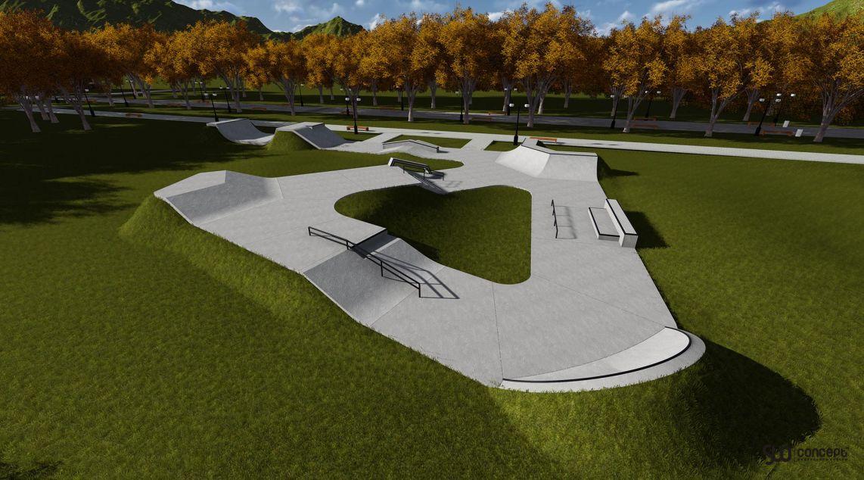 projekt skateparku w Świeciu