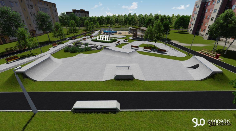 Przemyśl skatepark - Rozbudowa