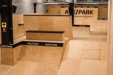 Skatepark داخلي في وارسو