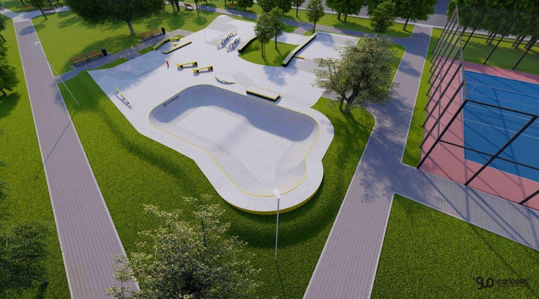 Skatepark الخرسانة