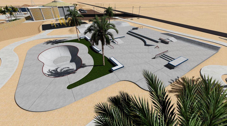 skatepark and cablepark in Egipt