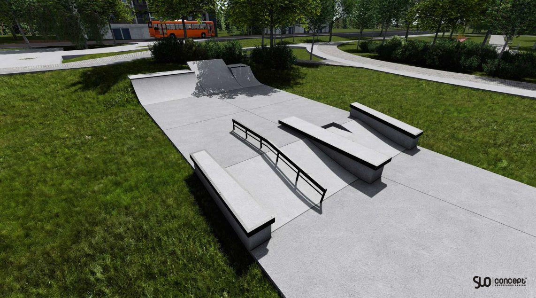 skatepark betonowy