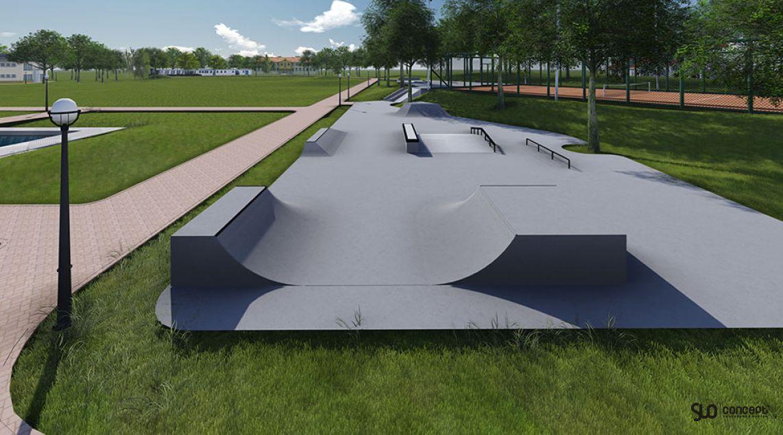 Skatepark in Stopnica