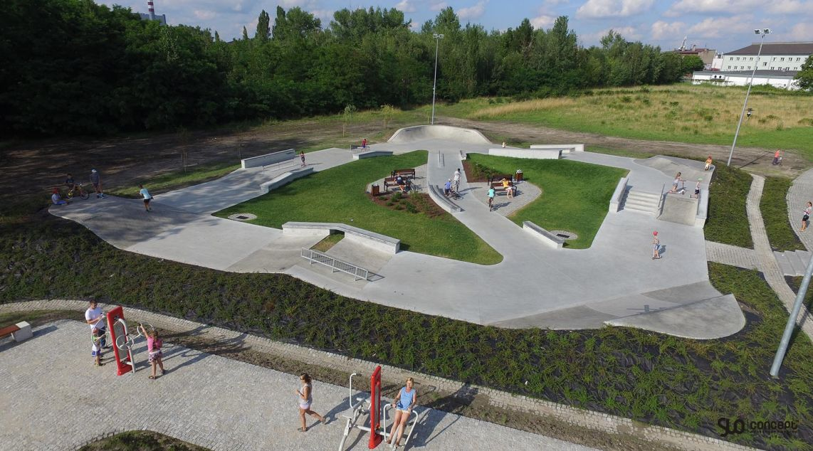 skatepark project in chorzow