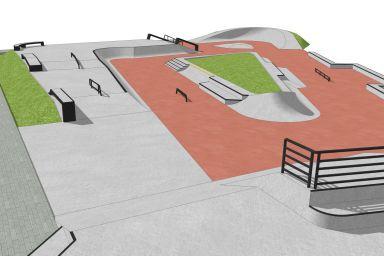 Skatepark - Szczecin (os. Majowe)