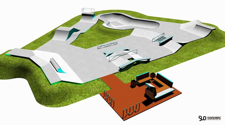 Skatepark w Knurowie