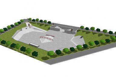 Skatepark w Łysomicach
