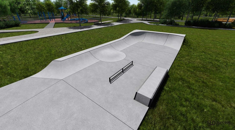 skatepark w Sobótce
