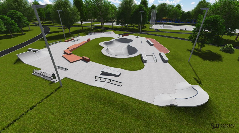 Skatepark w Warszawie Ochocie