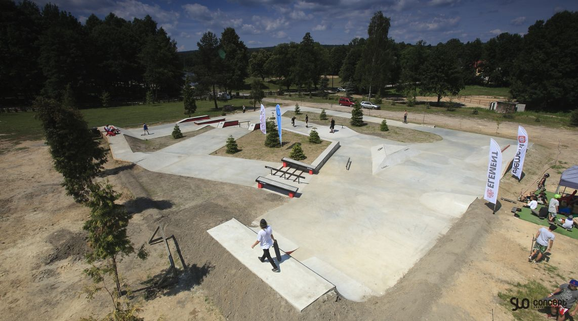 Skateparks project in Przysucha