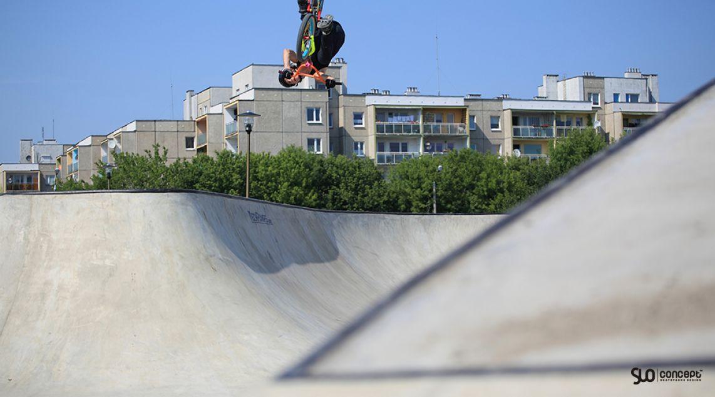 Visualization of the skatepark in Opole