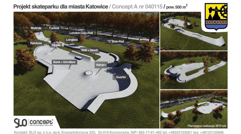 wizualizacje skateparków