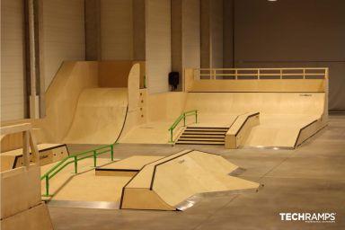Крытый скейтпарк в Кракове
